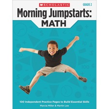 SHS 545464153 Scholastic Res. Gr 2 Morning Jumpstart Math Wkbook SHS545464153