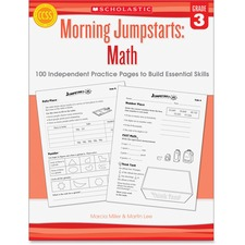 SHS 545464161 Scholastic Res. Gr 3 Morning Jumpstart Math Wkbook SHS545464161