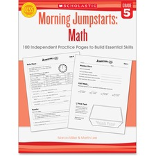 SHS 545464188 Scholastic Res. Gr 5 Morning Jumpstart Math Wkbook SHS545464188