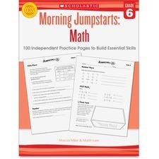 SHS 545464196 Scholastic Res. Gr 6 Morning Jumpstart Math Wkbook SHS545464196