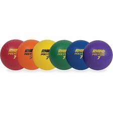 "Champion Sports Rhino Poly 8.5"" Playground Ball Set"