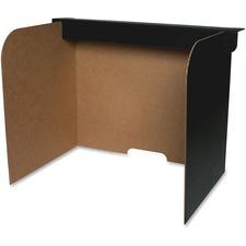 Flipside corrugated classroom wraparound barrier