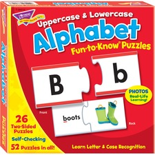 TEP 36010 Trend Upper/Lowercase Alphabet Puzzle Set TEP36010
