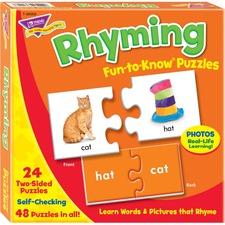 TEP 36009 Trend Rhyming Puzzle Set TEP36009