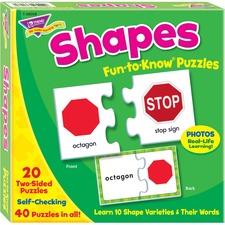 TEP 36008 Trend Shapes Puzzle Set TEP36008