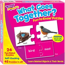 TEP 36005 Trend What Goes Together Matching Puzzle Set TEP36005
