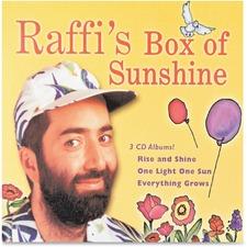Flipside Raffi's Box Of Sunshine 3-CD Set