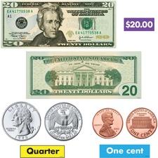 TEP 8142 Trend US Money Bulletin Board Set TEP8142