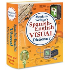 MER 2925 Merriam-Webster's SpanishEnglish Visual Dictionary MER2925