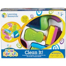New Sprouts - Clean It! My Very Own Cleaning Set