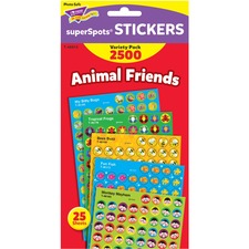 TEP 46915 Trend Animal Friends SuperShapes Stickers TEP46915
