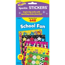 TEP 63904 Trend School Fun little sparkler Stickers TEP63904