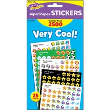 TEP 46903 Trend Very Cool superShapes Stickers Variety Pack TEP46903