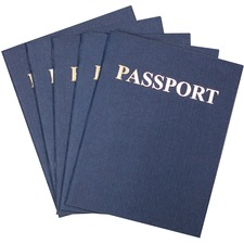 HYX 32610 Hygloss Prod. Kids Craft Blank Passport Books HYX32610