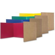 FLP 60045 Flipside Prod. Color Tri-fold Study Carrel FLP60045