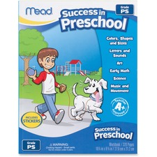 MEA 48108 Mead Success In Preschool Workbook MEA48108