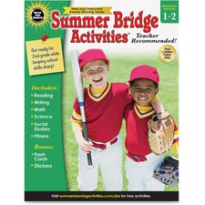 CDP 704697 Carson Gr 1-2 Summer Bridge Activities Workbook CDP704697