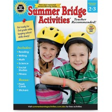 CDP 704698 Carson Gr 2-3 Summer Bridge Activities Workbook CDP704698