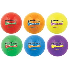 "Champion Sports Super Squeeze 8"" Soccer Ball Set"