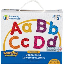 LRN 7725 Learning Res. Upper/Lower Case Magnetic Letters LRN7725