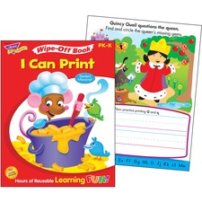 TEP 94120 Trend I Can Print Wipe-off Book TEP94120