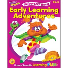 TEP 94127 Trend Get Ready For Kindergarten Wipe-off Book TEP94127