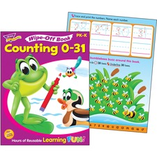 TEP 94215 Trend Counting 0 to 31 Wipe-off Book TEP94215