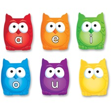 LRN 5459 Learning Res. Vowel Owls Magnetic Set LRN5459