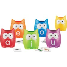 LRN 5460 Learning Res. Vowel Owls Sorting Set LRN5460