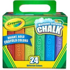 CYO 512024 Crayola Washable Sidewalk Chalk CYO512024