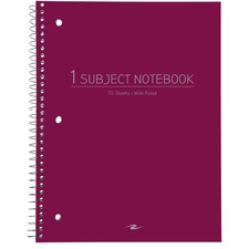ROA 10031 Roaring Spring Wide-ruled Wirebound Notebook ROA10031