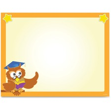 GEO 49993 Geographics Wise Owl Border Certificates GEO49993