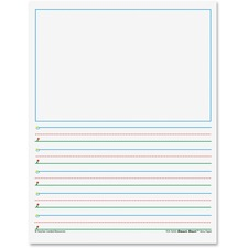 "TCR 76543 Teacher Created Res. K-1 5/8"" Space Writing Paper TCR76543"