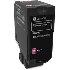 LEX74C1SM0 - Lexmark Unison Original Toner Cartridge