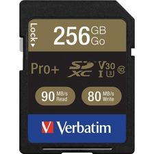 VER 99141 Verbatim Pro Plus 600X SDXC Memory Card VER99141