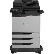 Lexmark CX820dtfe Laser Multifunction Printer - Color - Plain Paper Print - Floor Standing