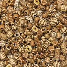 CKC 3259 Chenille Kraft Mixed Bone Beads CKC3259