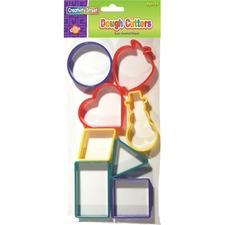 CKC 9765 Chenille Kraft 8-pc Shapes Dough Cutters CKC9765