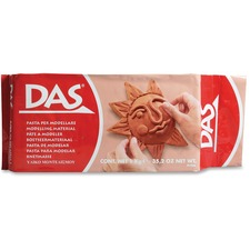 Dixon Das Modeling Material - Art Project, Painting, Decoration - 2.20 lb Basis Weight - 1 Each - Terra Cotta