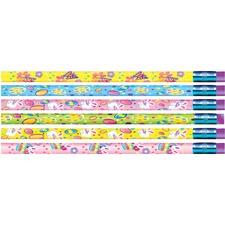 MPD 52024B Rose Moon Inc. Springtime Easter Design Pencils MPD52024B