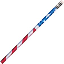 MPD 7662B Rose Moon Inc. Stars/Stripes Glitz Pencils  MPD7662B
