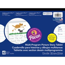 PAC 2483 Pacon Multi-Program Picture Story Tablet PAC2483