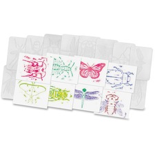 RYL R5803 Roylco Insect Shape Rubbing Plates RYLR5803