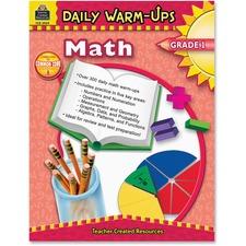 TCR 3959 Teacher Created Res. Gr 1 Math Daily Warm-Ups Book TCR3959