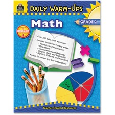 TCR 3960 Teacher Created Res. Gr 2 Math Daily Warm-Ups Book TCR3960