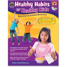 TCR 3989 Teacher Created Res. Gr 3-4 Healthy Habits Workbk TCR3989