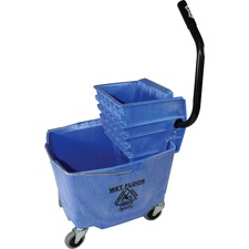 IMP 6B26353B Impact 35-qt Side Press Mop Bucket/Wringer Combo IMP6B26353B