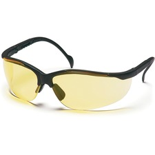 ProGuard Style 830 Series - 8301002 - Eye Protection - Amber, Black - 1 Each