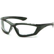 ProGuard Fit 880 Series - 8801100 - Recommended for: Eye - Eye, Wind, Debris, Dust, UVA, UVB Protection - Polycarbonate Lens, Rubber Nose Pad, Foam - Clear, Black - 1 Each