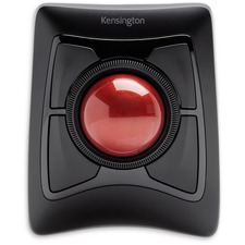 Kensington Expert Mouse® Wireless Trackball - DiamondEye - Wireless - Bluetooth/Radio Frequency - Black - 1 Pack - USB - Scroll Ring - 4 Button(s) - Symmetrical